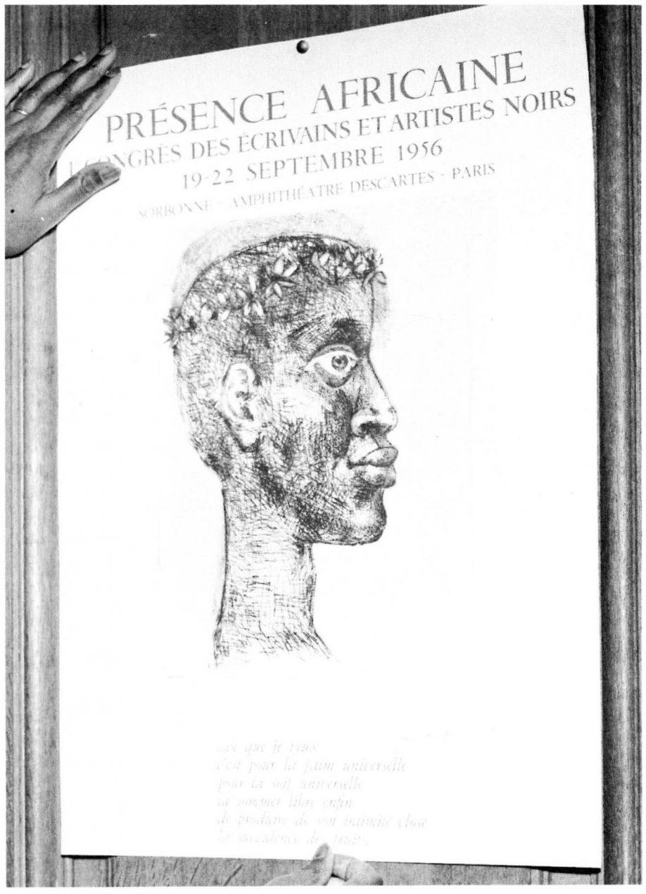 Le congrès des écrivains et artistes noirs en 1956
