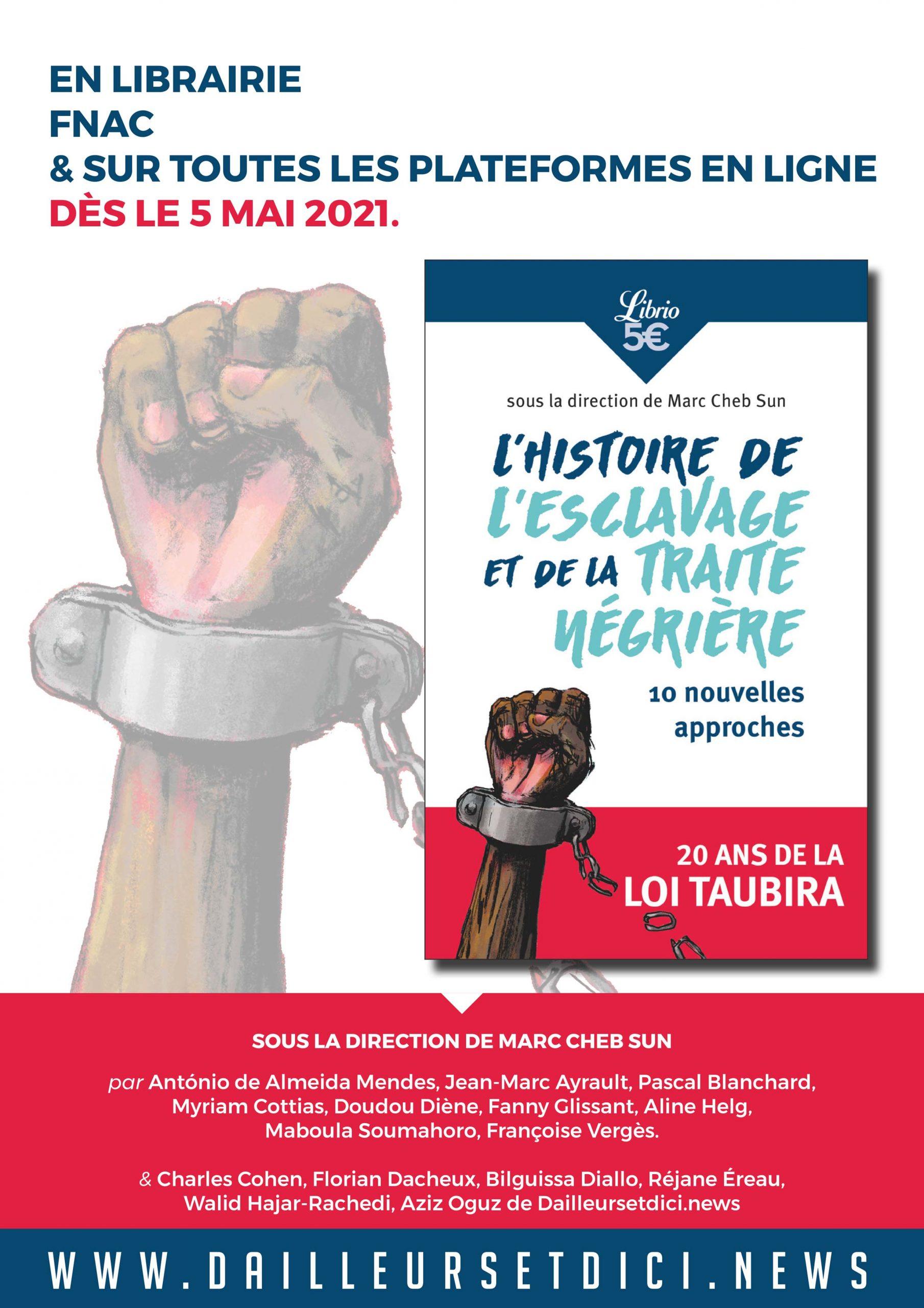 Notre livre sur l'histoire de l'esclavage et de la traite