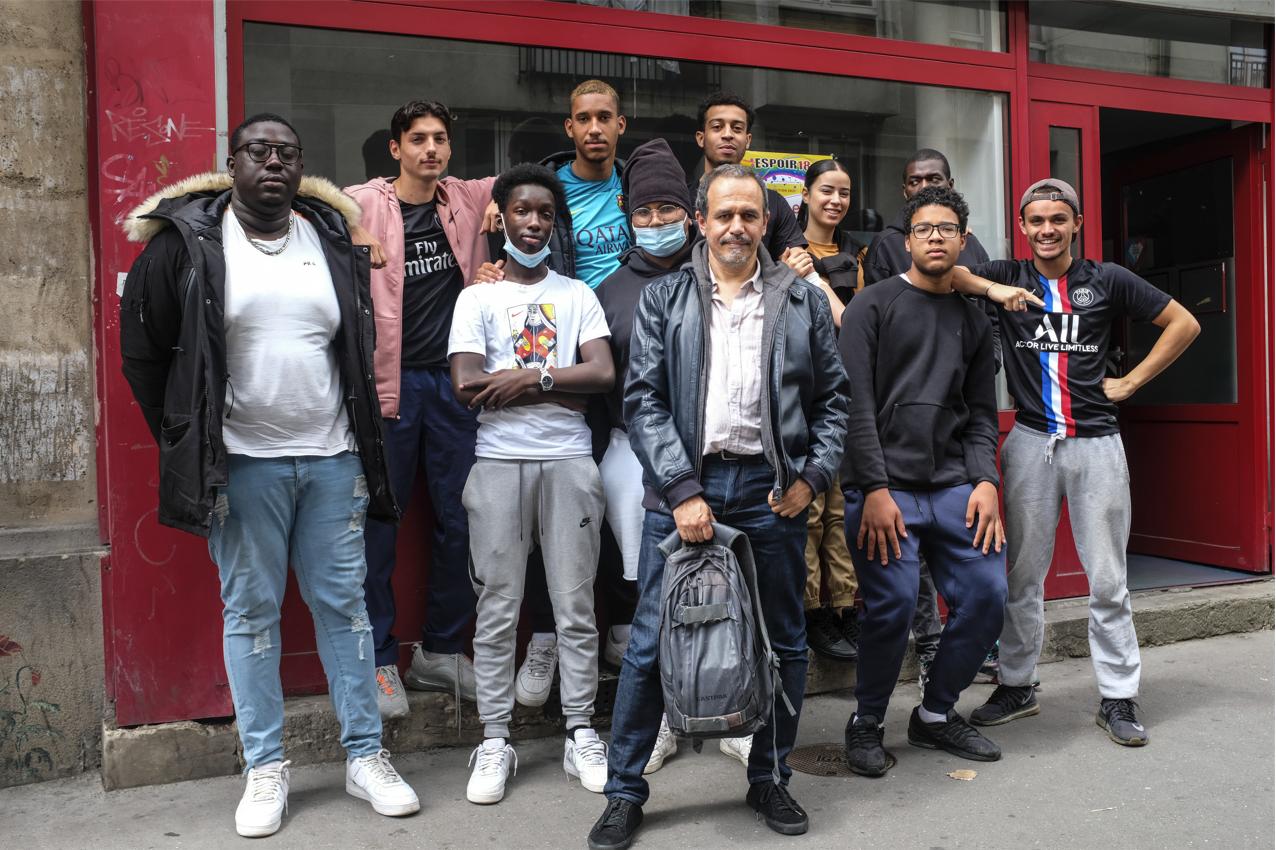"""Espoir 18 vs Karim Miské : la rencontre """"D'ailleurs et d'ici""""."""