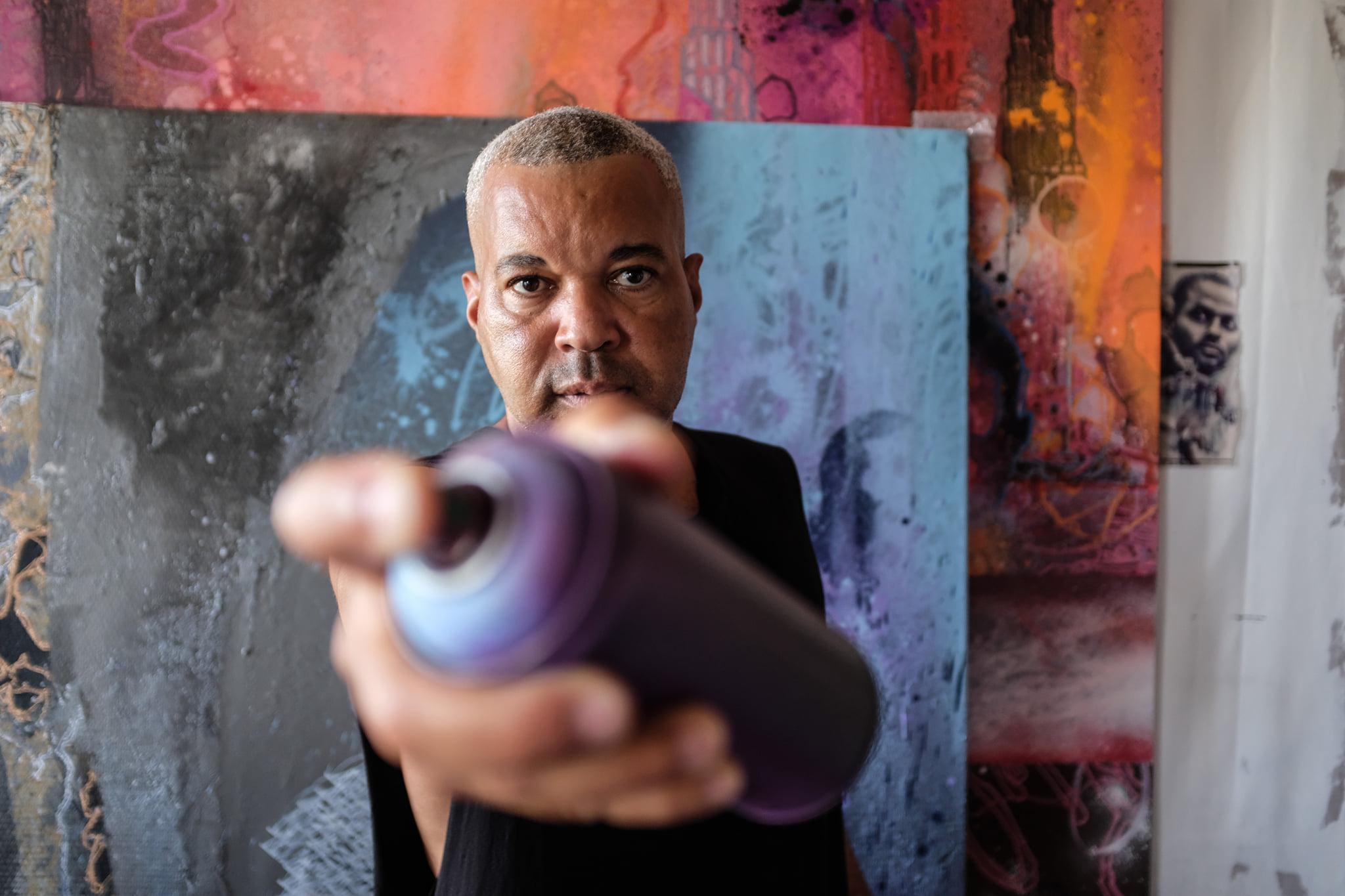 Shuck One, graffiti artiste : « Il faut assumer notre histoire »
