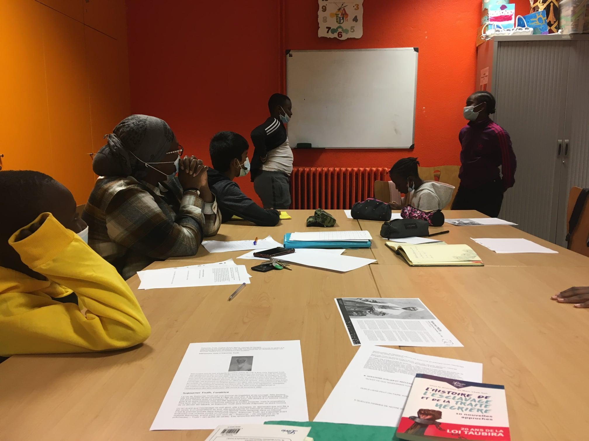 Atelier Mémoire & Journalisme à Montreuil
